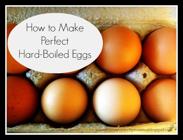 LittleOwlCrunchyMomma: How to Make Perfect Hard-Boiled Eggs