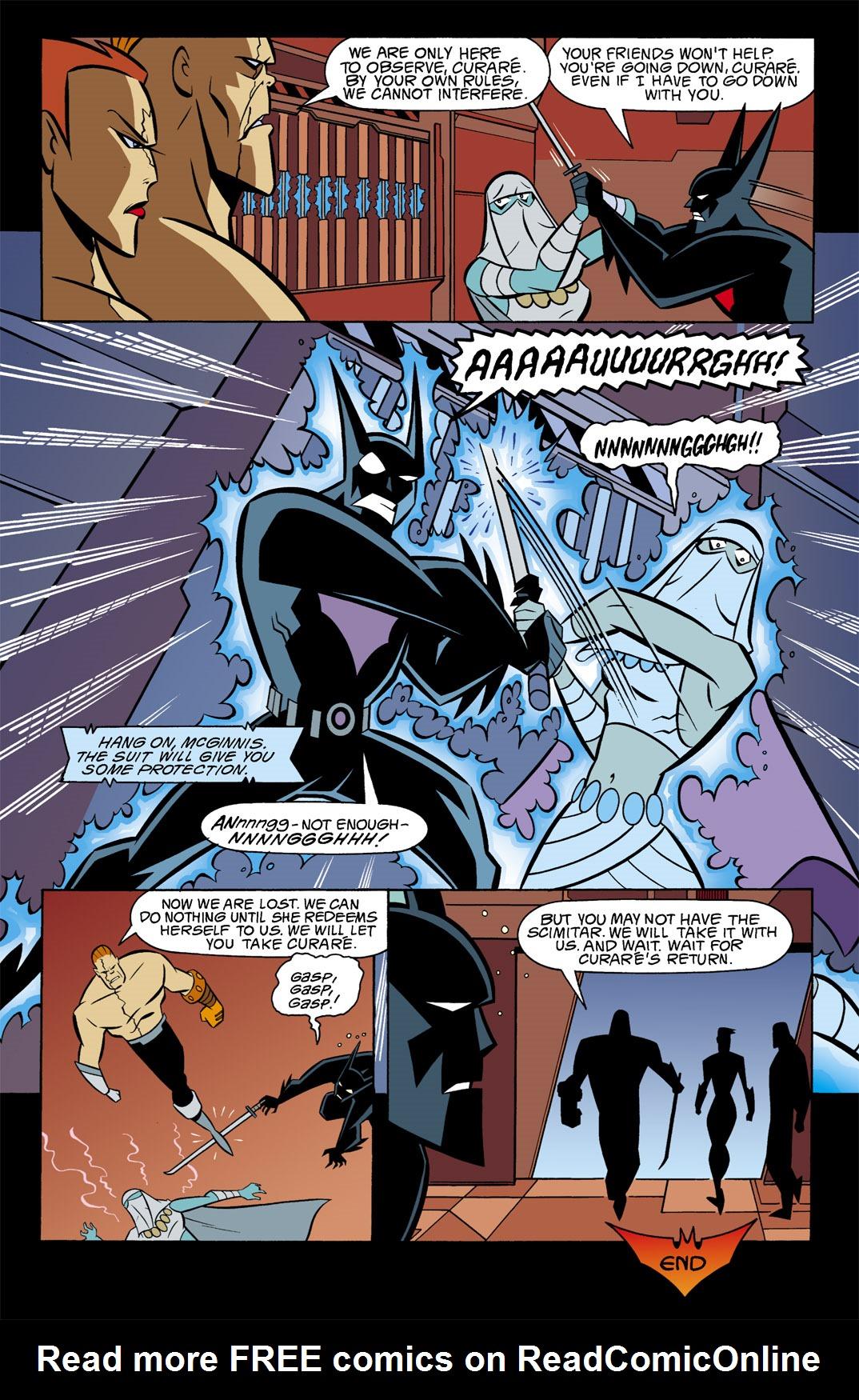 Batman Beyond [II] Issue #9 #9 - English 23