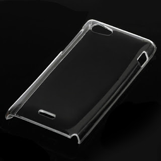 Clear Crystal Hard Case Cover for Sony Xperia J ST26i ST26a