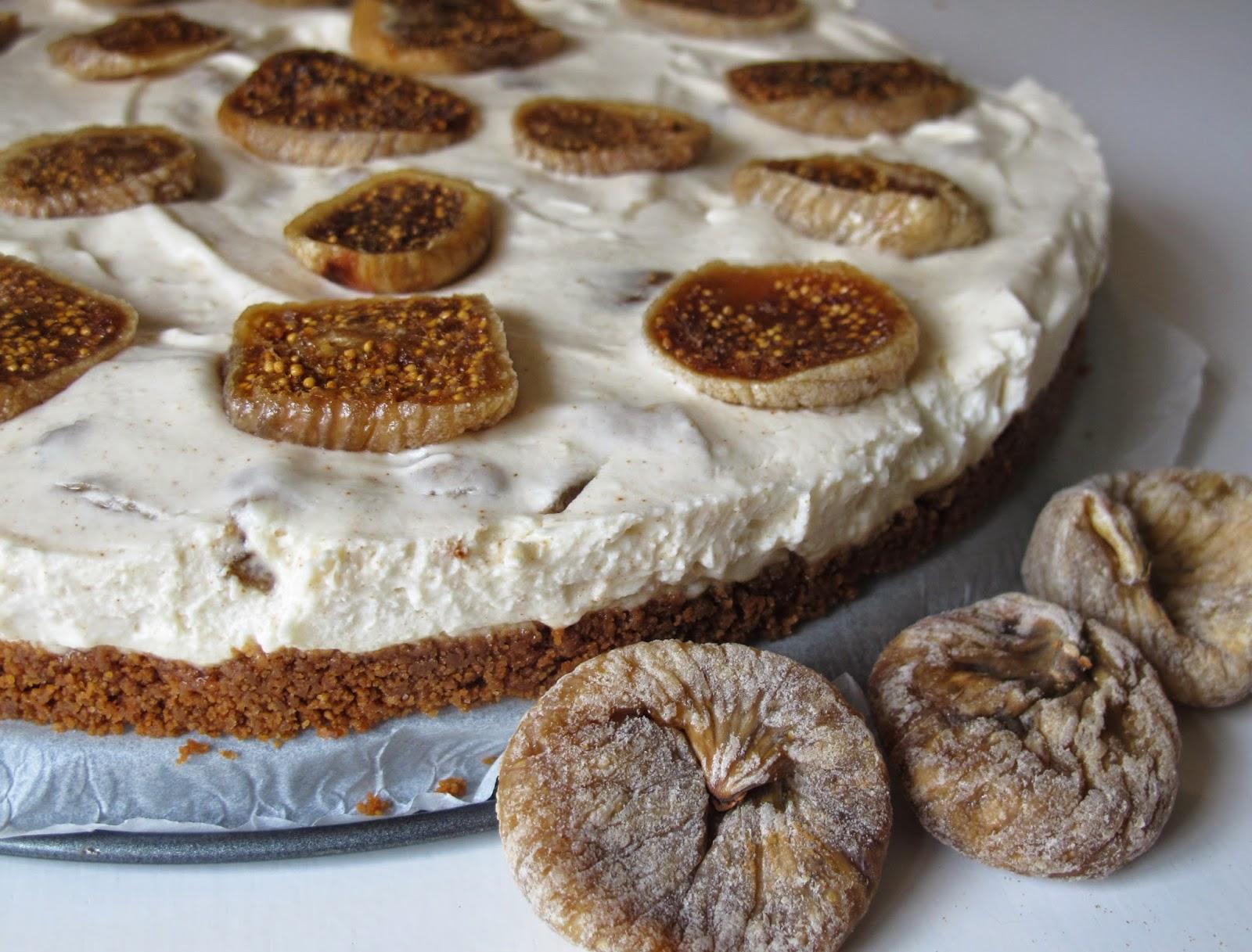 gedroogde vijgen taart recept