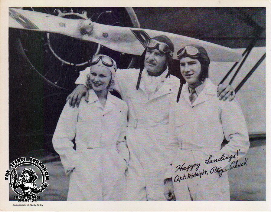 The secret squadron captain midnight quot happy landings quot promo photo