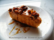 Maple Walnut Sweet Potato Cheesecake Recipe