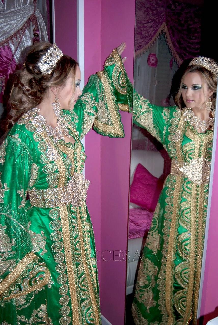 Vestidos para una boda marroqui
