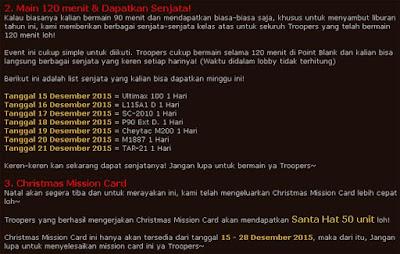 Event PB Garena Indonesia Terbaru Desember 2015