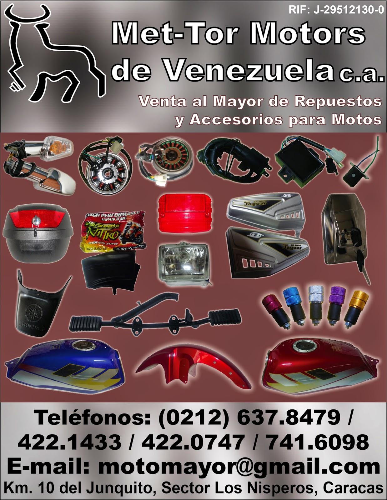 MET-TOR MOTORS DE VENEZUELA C.A. en Paginas Amarillas tu guia Comercial