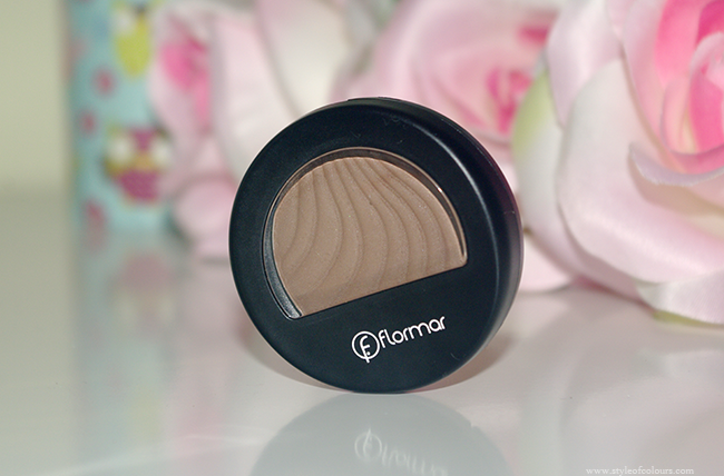 Flormar Matte Mono Eyeshadow in chocolate brown