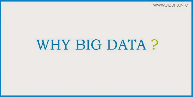 why big data