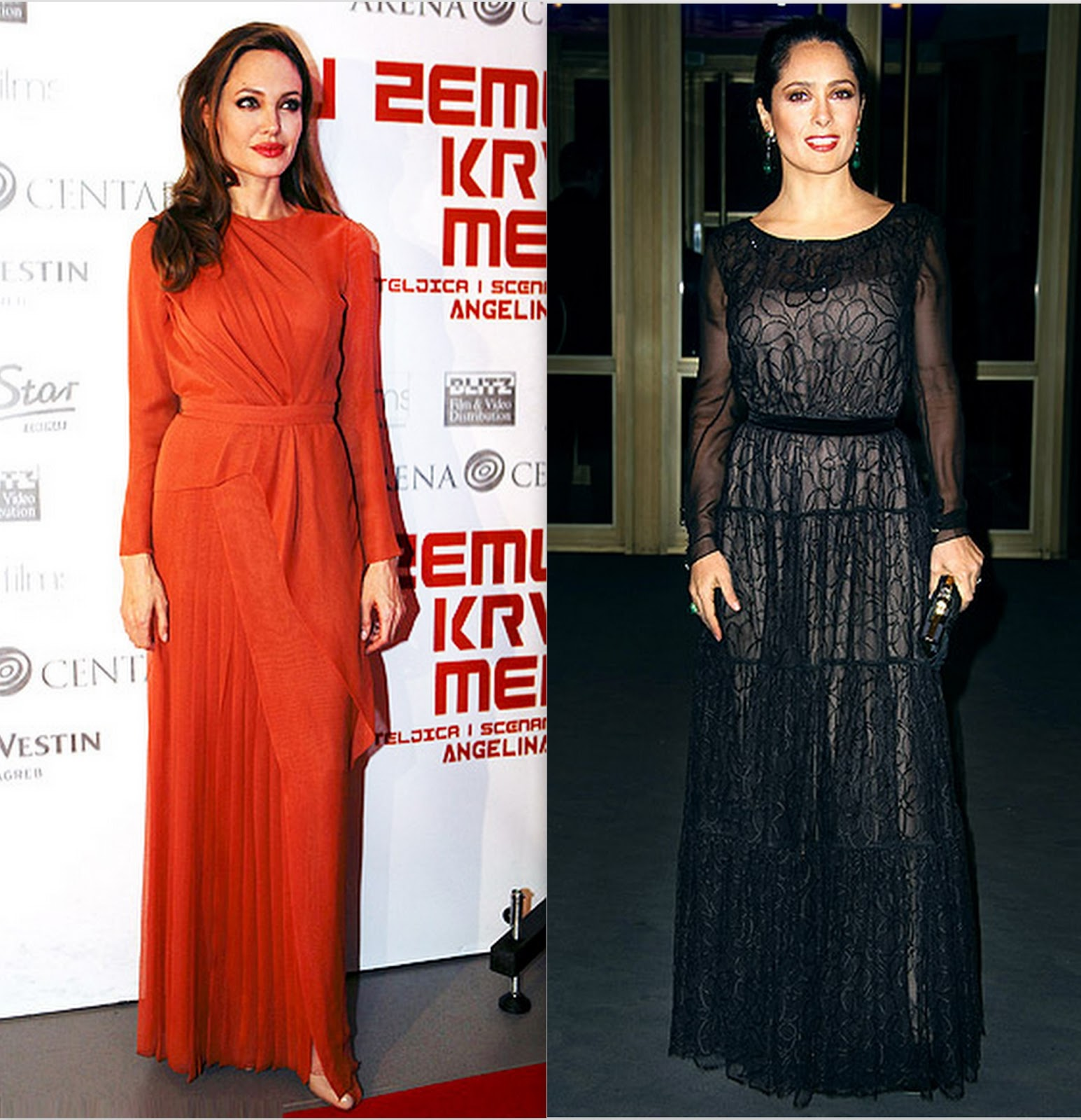Style-Delights: Long Sleeve Gowns, Heating Pad And Horror Of \'No-Pose\'