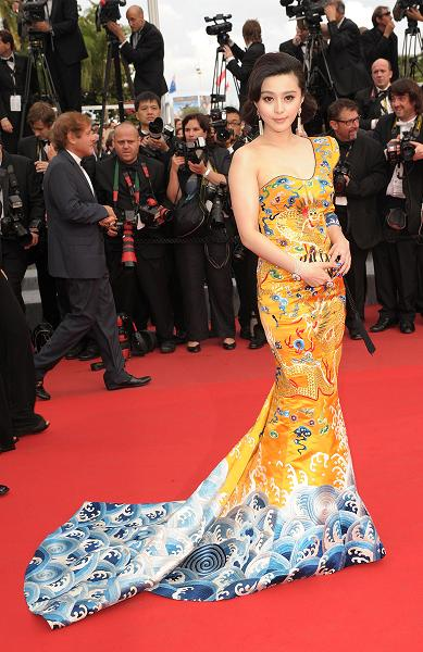 Fan Bing Bing attends The 63rd Cannes Film Festival Opening Ceremony and 'Robin Hood' Premiere