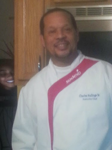 Sodexo Executive Chef Charles Stallings