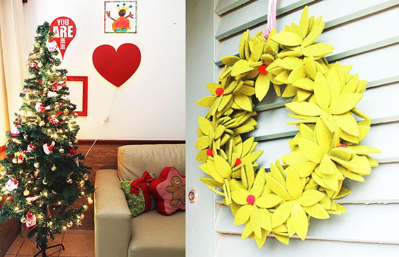 A decoração de Natal da blogueira Ana