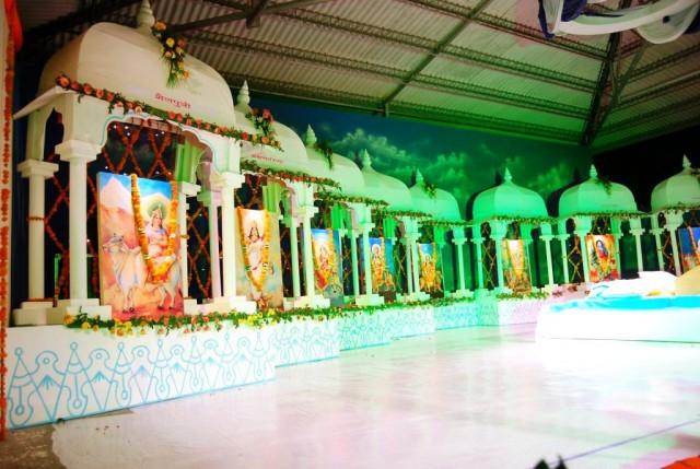Navratri Mandap Decoration God Wallpapers