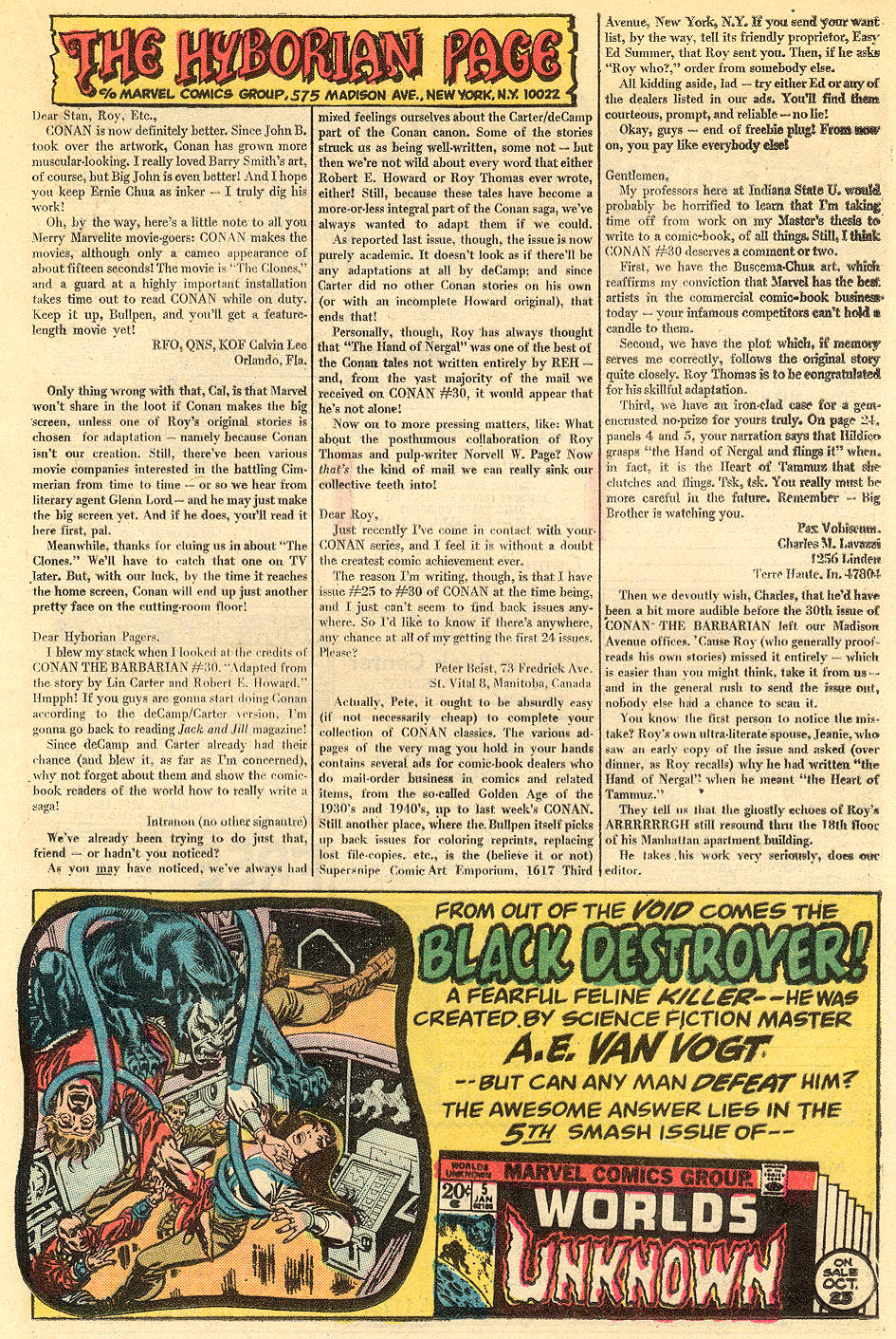 Conan the Barbarian (1970) Issue #34 #46 - English 22