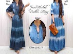 Gamis Jeans Washed Susun XL SOLD OUT