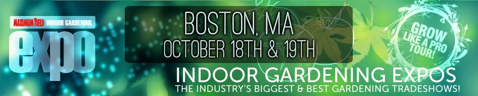 The grow room closed saturday october 18th for indoor for Indoor gardening expo 2014