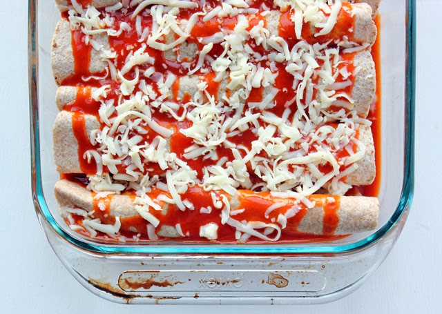 Spicy Buffalo Chicken Enchiladas Recipe #MyPicknSave #shop #cbias