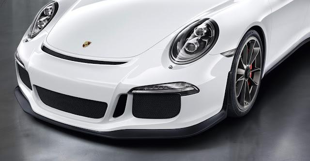 Detalle Porsche 911 GT3 2013, parte delantera