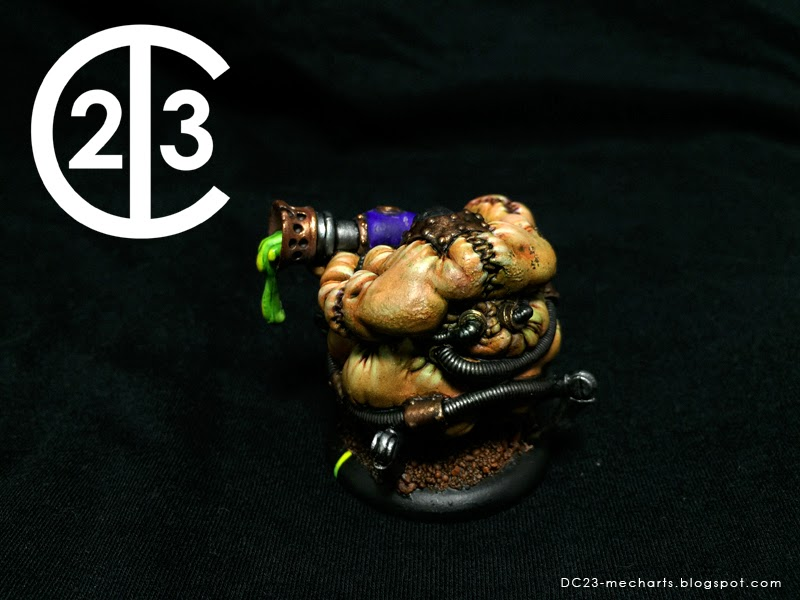 Bile Tralls Cryx Unit painted by Don Suratos aka DC23photo