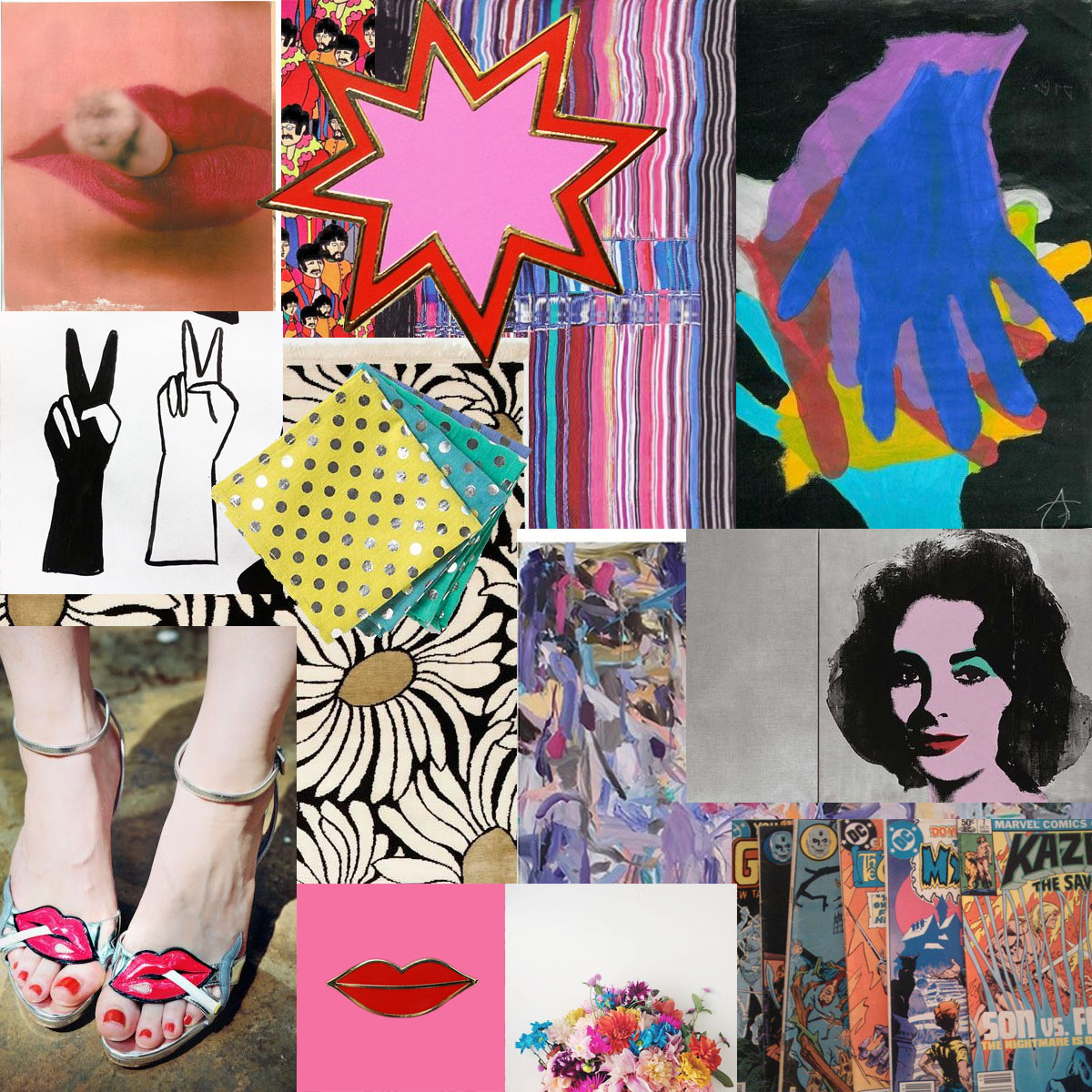 Pop art fashion inspiration