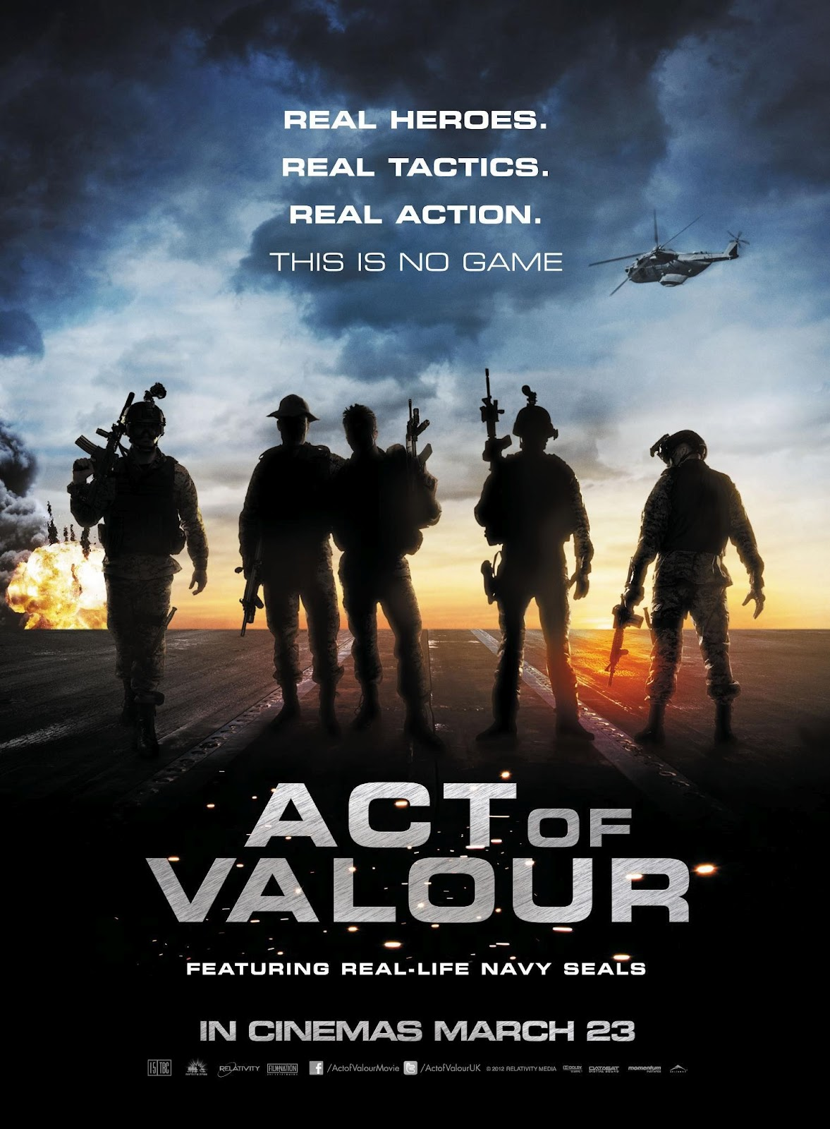 the act of valor Find out when and where you can watch act of valor on tv with the full listings  schedule at tvguidecom.