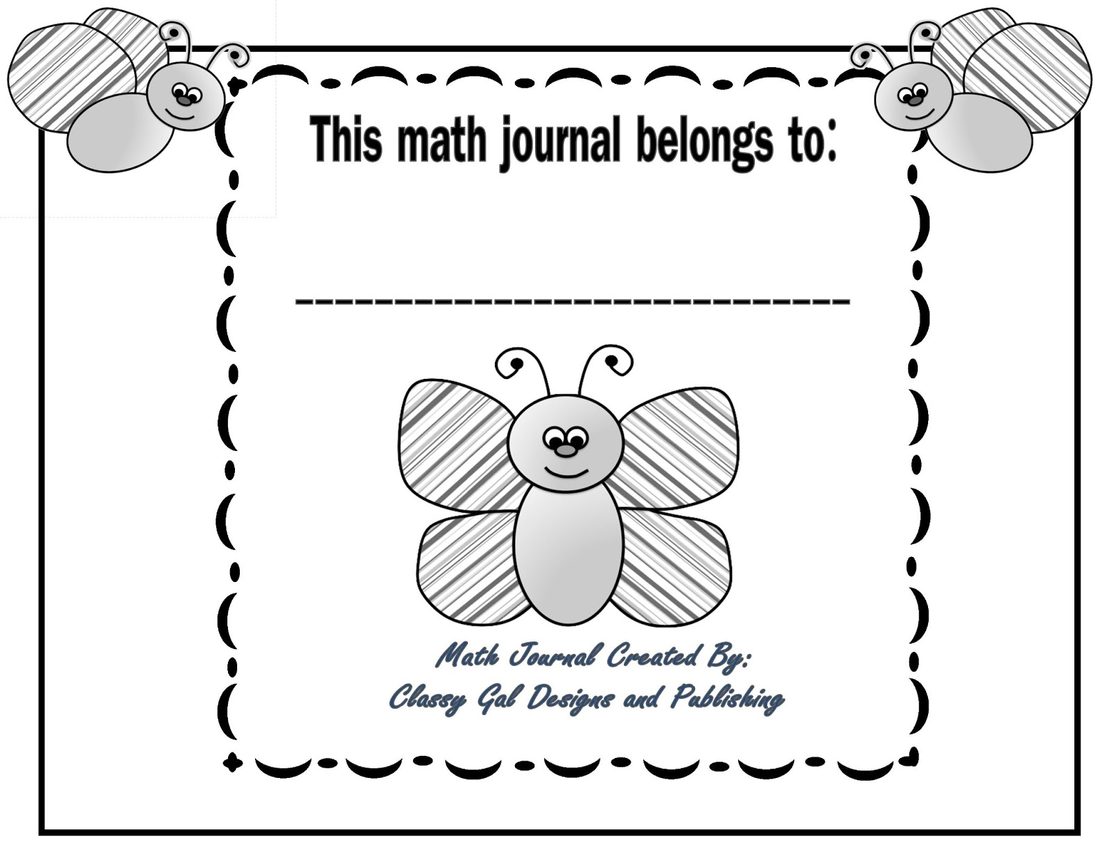 Maths Book Cover Printable ~ Free coloring pages of writing notebook cover