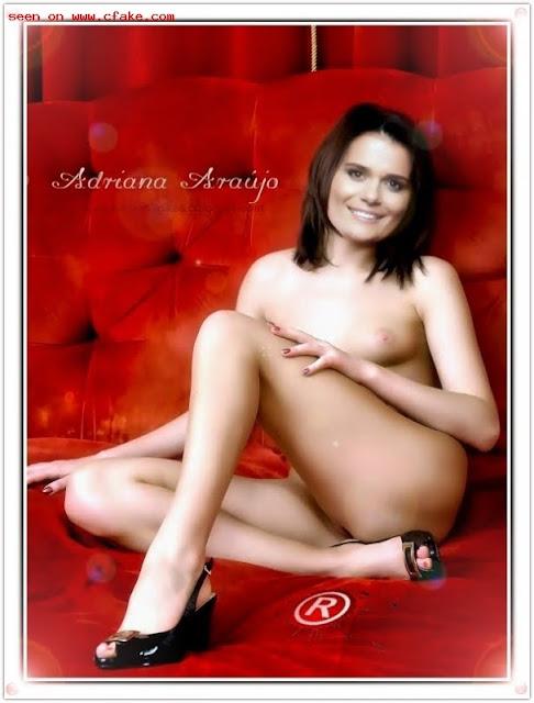 Adriana Araujo pelada nua