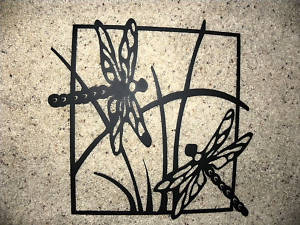 Metal Dragonfly Art Wall Decor