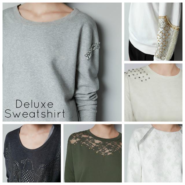 Sudaderas Deluxe Zara