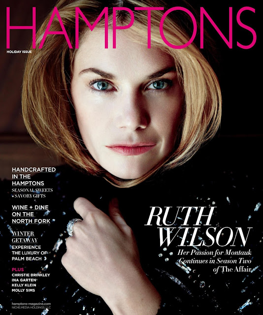 Actress @ Ruth Wilson - Hamptons USA, Winter 2015