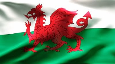 wales flag coloring page
