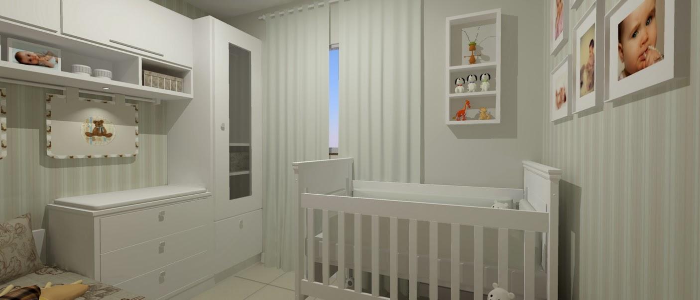 Quarto De Beb Seu Sonho Desenhado ~ Planta Quarto De Bebe E Quarto Com Papel Parede