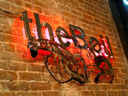 The Boil Signage