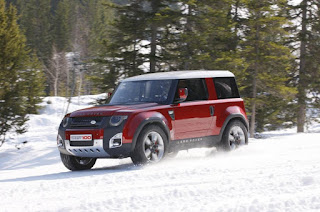 2015 New Land Rover Defender DC100 comvetible front view