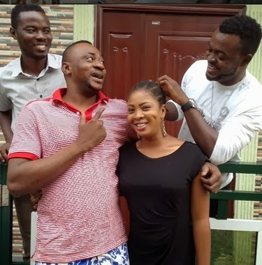 odunlade adekola movie set