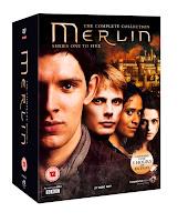 merlin, bbc, 5-series box set