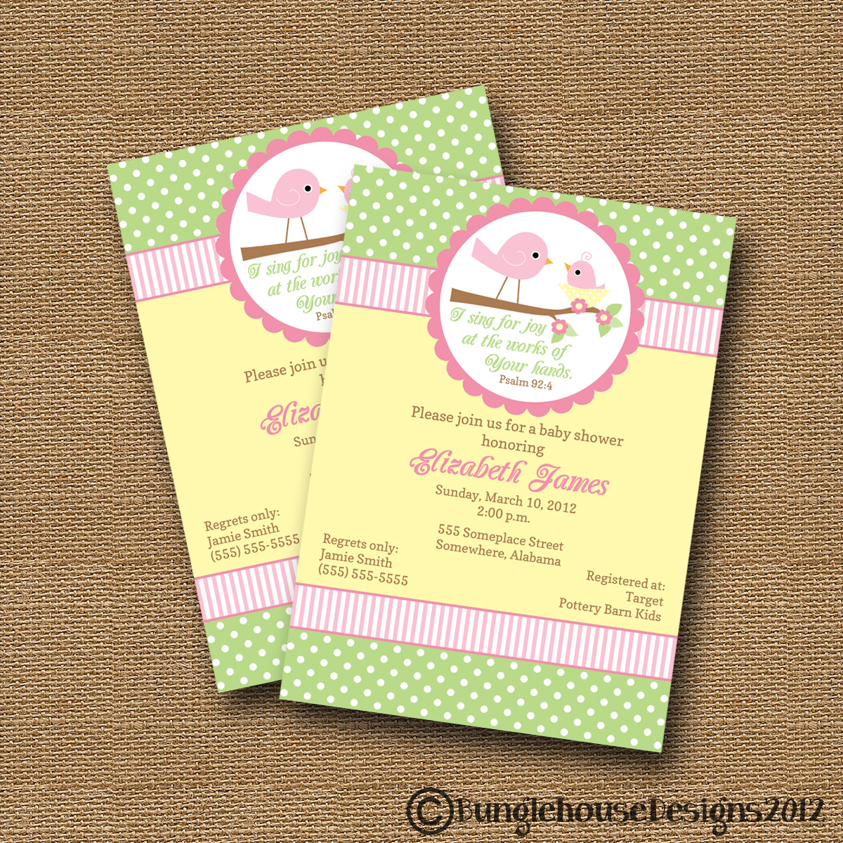 more baby shower invitations or these would be so cute for birthday