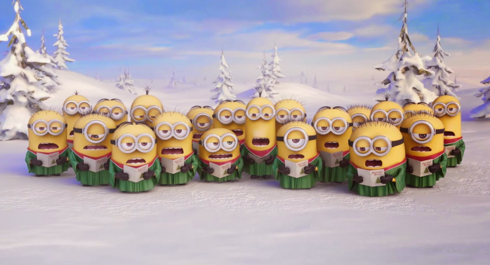 ミニオンたちからクリスマスの ...