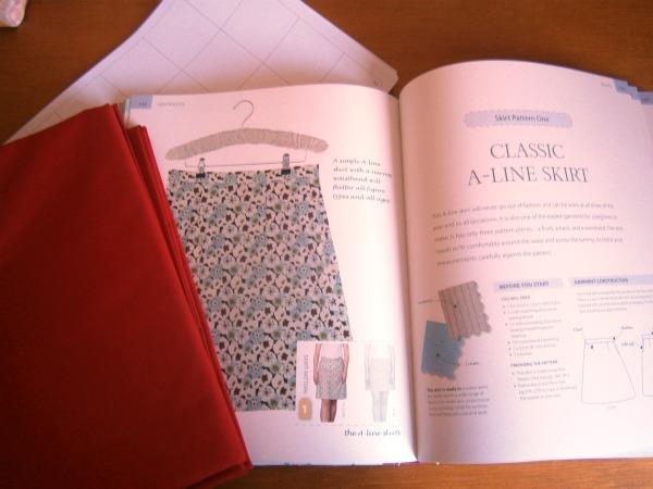 a-line skirt dressmaking