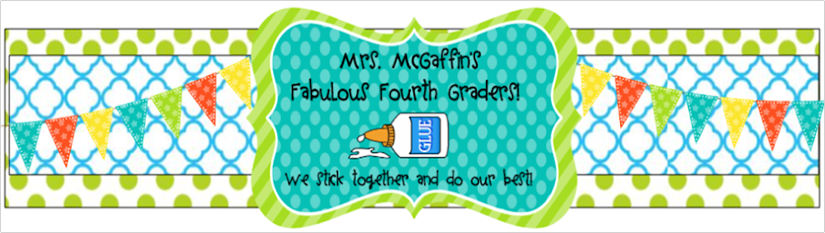 Mrs. McGaffin's Fabulous 4th Graders!