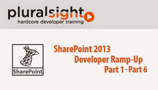 Pluralsight – SharePoint 2013 Developer Ramp-Up – Part 1-6