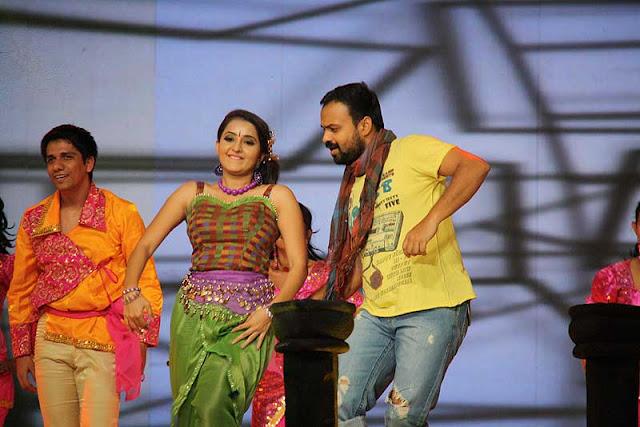 Actress Bhama and Kunjacko boban