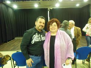 Amb la Marta Sierra, Escriptora i Musa.