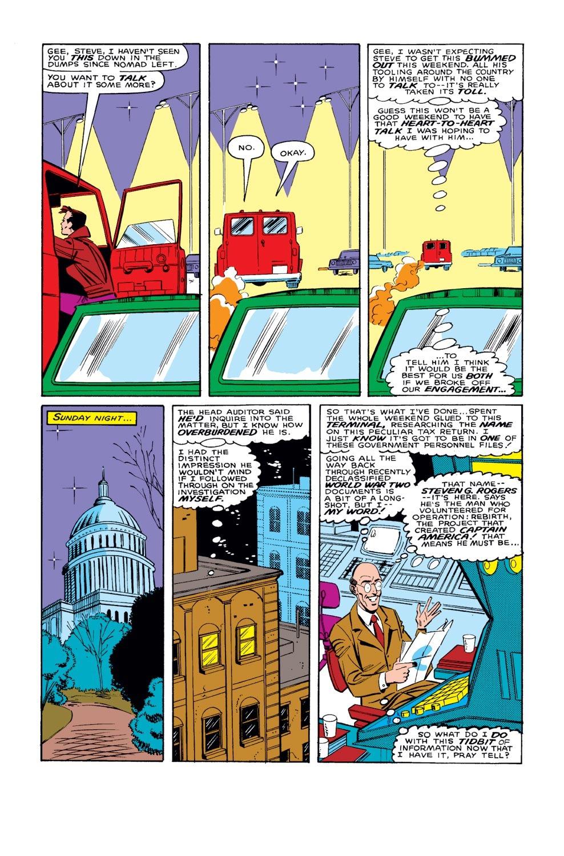 Captain America (1968) Issue #327 #256 - English 23