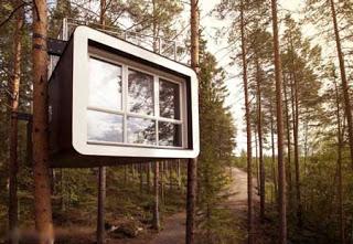 بالصور: جمال الفندق المعلق السويد