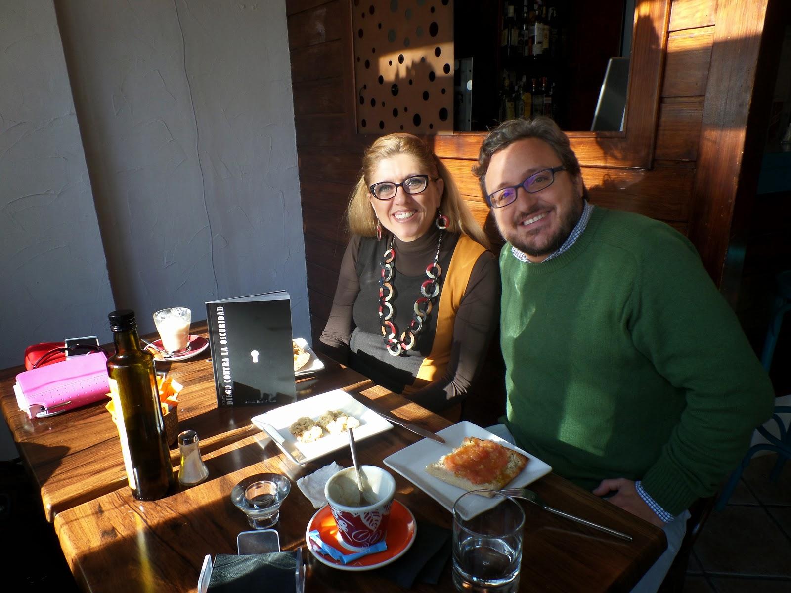 El Blog de María Serralba - Antonio, María y Diego contra la oscuridad