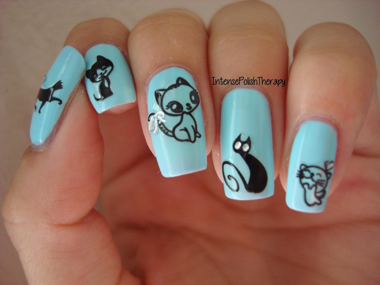 Животные на ногтях. 47 фото дизайна ногтей с животными от 75