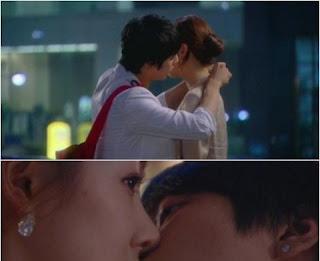 JUNG YONGHWA berciuman