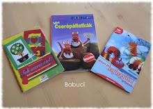 Eladó kreatív könyvek!