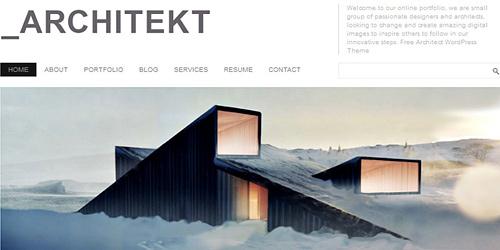 Architecture Wordpress Theme2