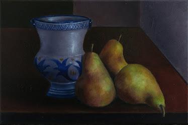 Tres peras alejandrinas y cerámica de Muel (6P)
